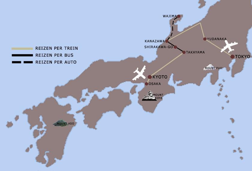 Japan VB Onbekend 14dgn iki Travels