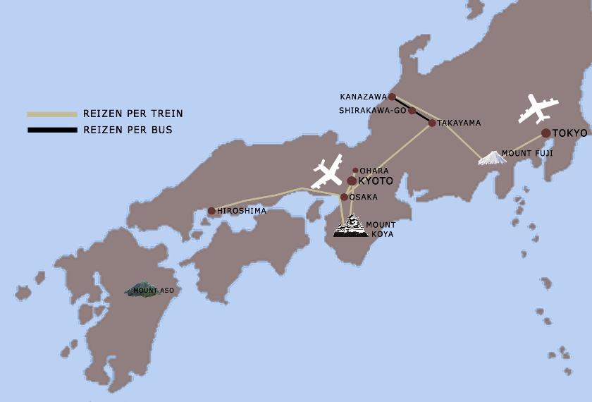 Japan VB ZOMERTOUR 20dgn Iki Travels