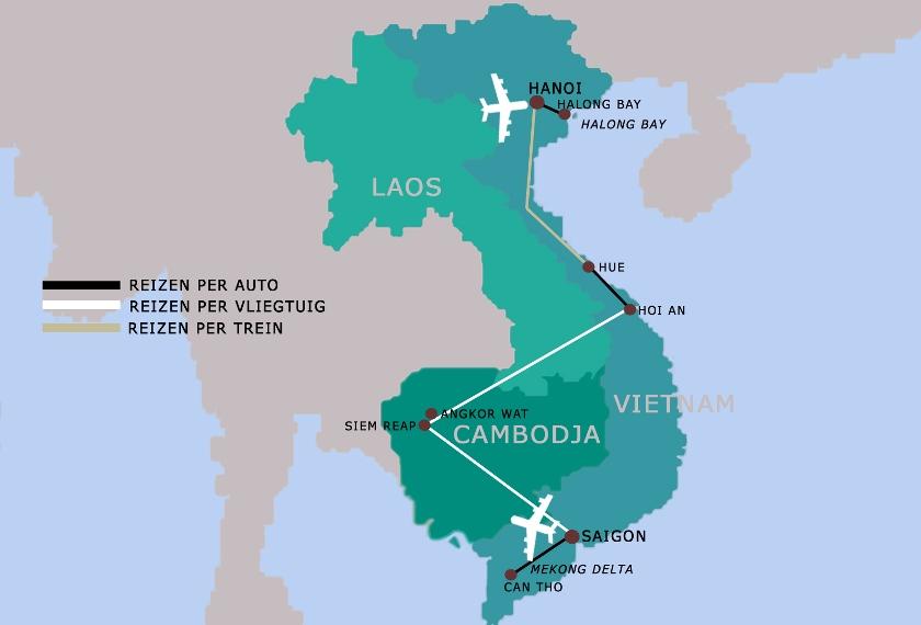 Vietnam Cambodja reis hoogtepunten 18 dagen iki Travels