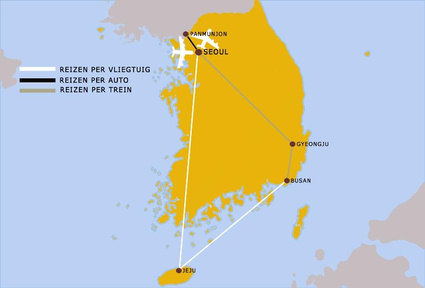 Zuid Korea Veelzijdig 12dgn