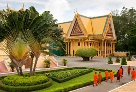 reizen Cambodja phnom penh paleis iki Travels