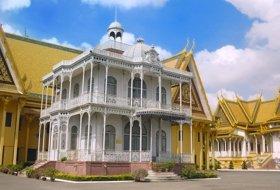 reizen Cambodja paleis phnom penh iki Travels