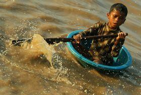 reizen Cambodja siem reap jongen iki Travels