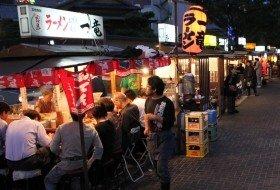 Japan Fukuoka eetstalletjes
