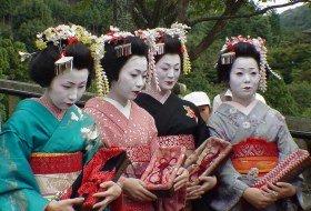 familie reis Japan geisha kyoto iki Travels