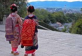 herfst reis Japan geisha kyoto iki Travels