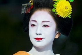 Japan kyoto Geisha