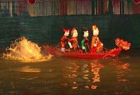 Vietnam Hanoi water ballet
