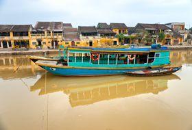 Vietnam Hoi An boot