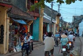 Vietnam Hoi An straatbeeld