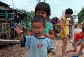 Puur Vietnam reis Mekon Delta kinderen