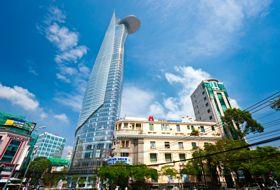 Vietnam Saigon gebouw