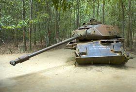 Vietnam Saigon tank