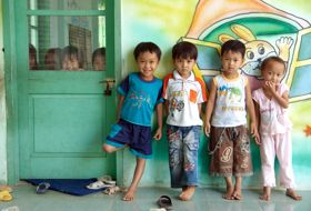 Vietnam schoolkinderen