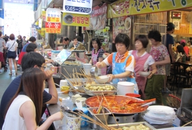 Zuid korea Busan eetstal