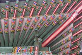 Zuid Korea Seoul Paleis dak