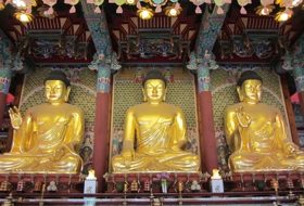 Zuid Korea Seoul Tempel boeddhas
