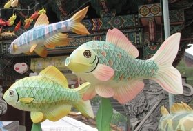 Zuid Korea Festival vissen