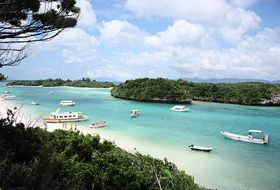 Japan reis Ishigaki Kabira bay iki Travels