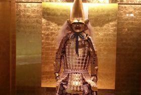 Japan kanazawa gouden samurai