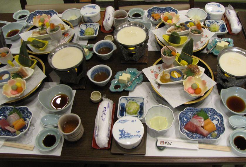 Japan Kyoto culinair japanse maaltijd