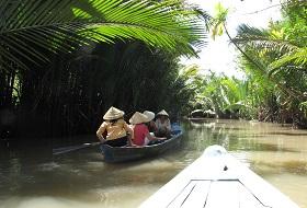 Puur Vietnam reis Mekong Delta boot