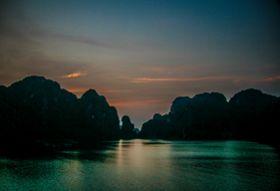Vietnam fotografiereis Halong bay nacht