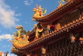 Stopover in Taiwan Taipei Tempel