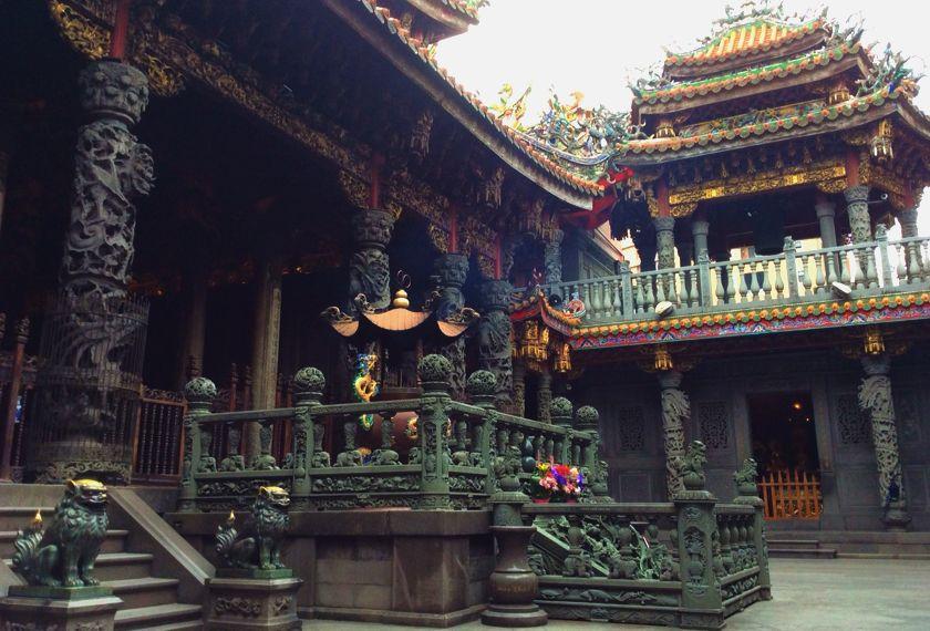Taiwan Reis Tempel