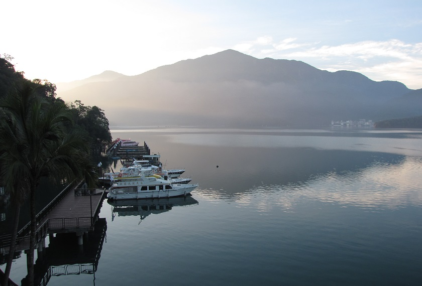 Taiwan reis Sun Moon Lake