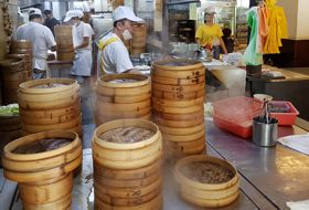 Taiwan Reis Taipei Dimsum Restaurant iki Travels