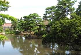 Japan Aizu Wakamatsu tuin