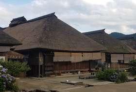Japan Ouchi Juku traditioneel dorpje