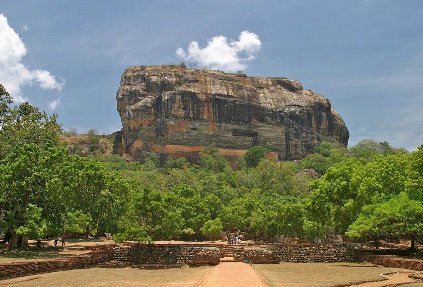 Sri lanka reis Sigiriya rots