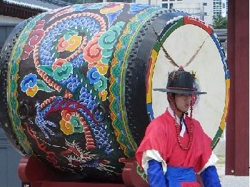 Zuid Korea Reizen Drum Wachters