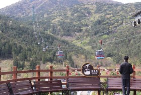 Zuid Korea Tongyeong cable car