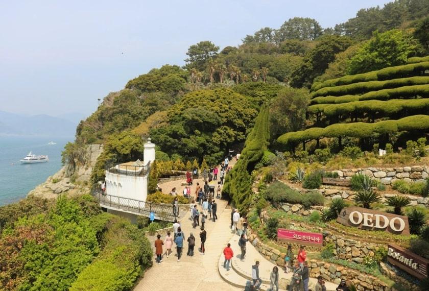 Zuid Korea Zomertour Iki Geoje Island Oedo Botania