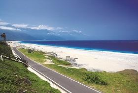 Taiwan Hualien strand