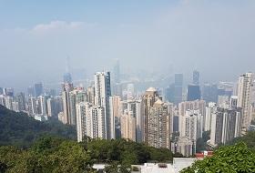 Hong Kong uitzicht