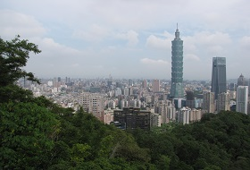 Taipei Uitzicht