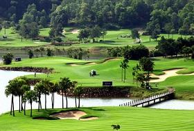 Chi Linh Green noord Vietnam golfreis