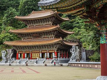 Zuid-Korea Guinsa Temple Danyang-gun
