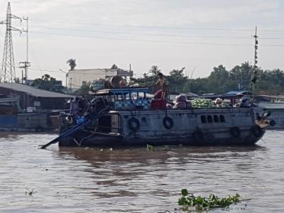 Vietnam Can Tho drijvende markt