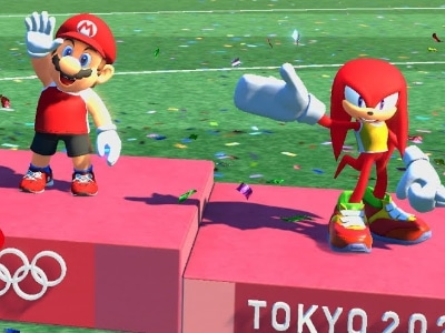 Olympische spelen 2020 super Mario