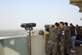 DMZ Soldaten Uitzicht