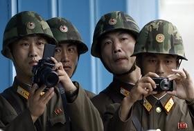 Dmz Noord-Korea Soldaten Foto iki Travels