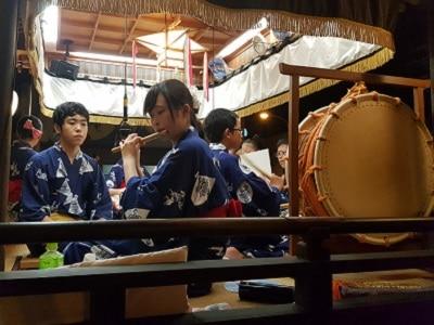 Japan Gujo Hachiman Festival Orkest