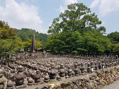 Japan Kyoto Adashino Nembutsu Ji Tempel