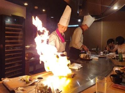 Japan Kyoto Tepanyaki Restaurant