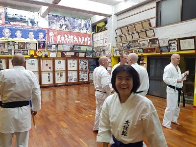 Okinawa Karate Museum Goju Ryu Training